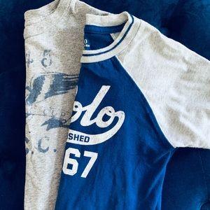 2 Ralph Lauren t-shirts Size 3T